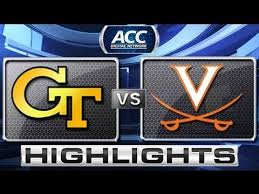 Georgia tech vs. Virginia Cavaliers